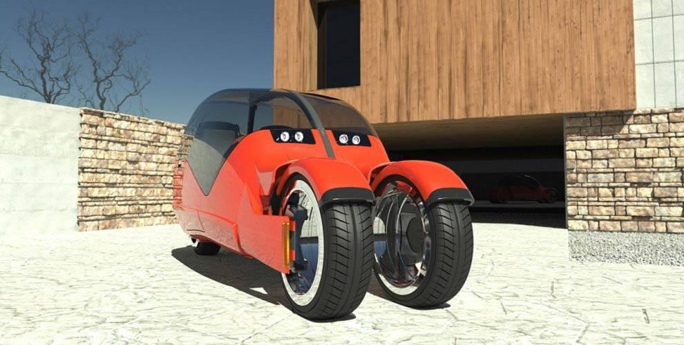 Lane Splitter- masina motocicleta