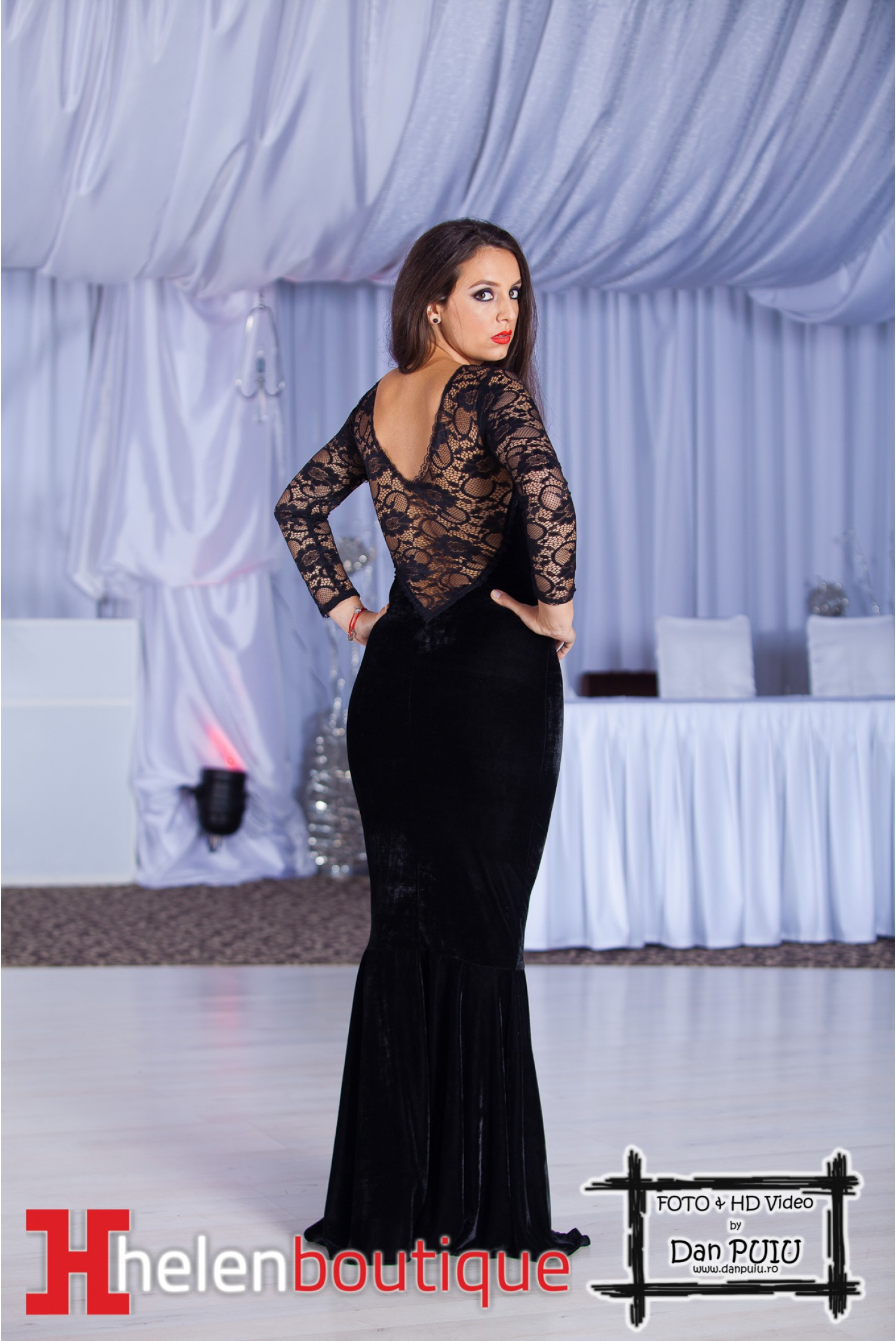 Arata bine intre-o rochie neagra simpla